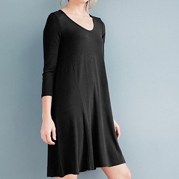 ad4a09d898f60 Garnet Hill Dresses & Skirts - NEW GARNET HILL Jersey Knit Trapeze Stretch  Dress